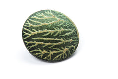 vein brooch green 1