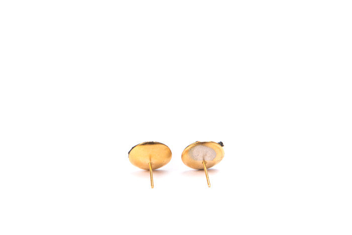 black and gold earrings 2