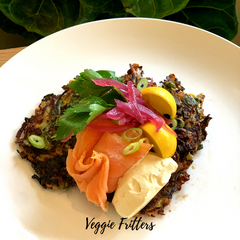 MKM ACTIVE VEGGIE FRITTERS RECIPE