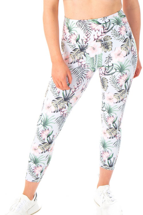 MKM ACTIVE LUXE TROPICAL 7/8 LEGGINGS