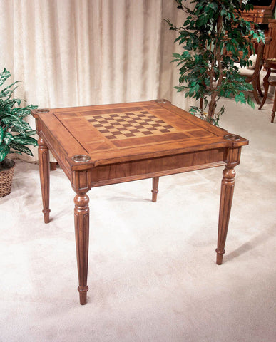 Butler Furniture Vincent Antique Cherry Multi-Game Card Table 837011 - BarStoreUSA
