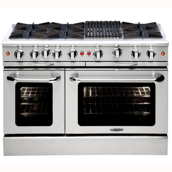 Capital Culinarian 48″ Gas Manual Clean Range MCOR486B - BarStoreUSA