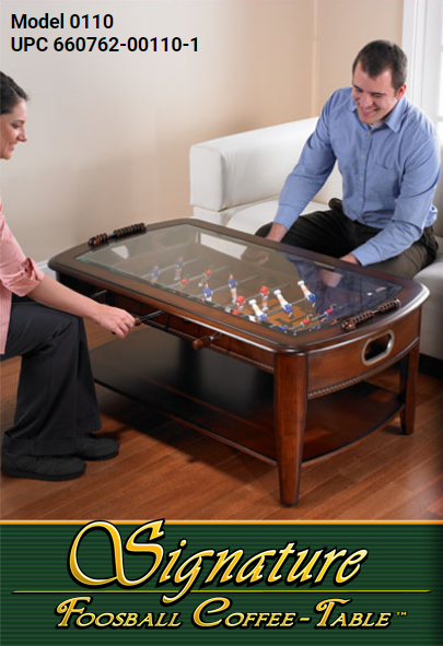 Chicago Gaming Signature Foosball Coffee Table 0110 - BarStoreUSA