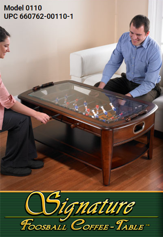 Chicago Gaming Signature Foosball Coffee Table 0110
