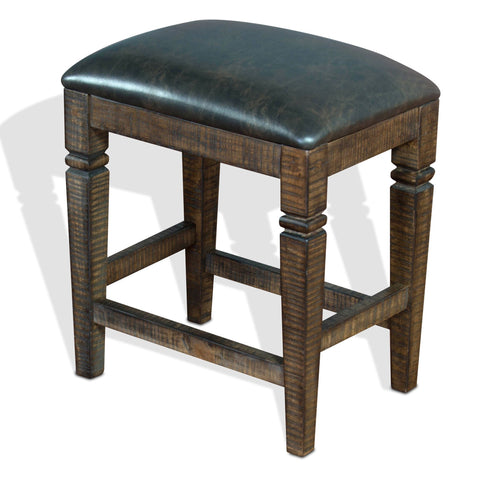 Sunny Designs Homestead Backless Stool  1430TL2-24 - BarStoreUSA