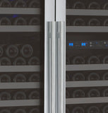 "Allavino 47"" Wide FlexCount II Tru-Vino 349 Bottle Three Zone Stainless Steel Side-by-Side Wine Refrigerator Model: 3Z-VSWR7772-S20"