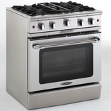 Capital Culinarian 30″ Gas Manual Clean Range MCOR304 - BarStoreUSA