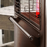 Lava Heat Italia Patio Heater 2G Heritage Bronze - Natural Gas AL8RGB - BarStoreUSA