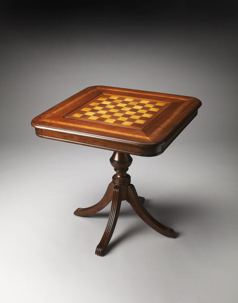 Butler Furniture Morphy Antique Cherry Game Table 4112011 - BarStoreUSA