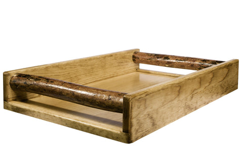 Montana Woodworks Glacier Country Collection Serving Tray - BarStoreUSA