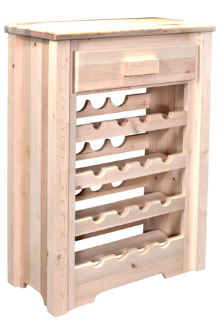 Montana Woodworks Homestead Collection Wine Cabinet - BarStoreUSA