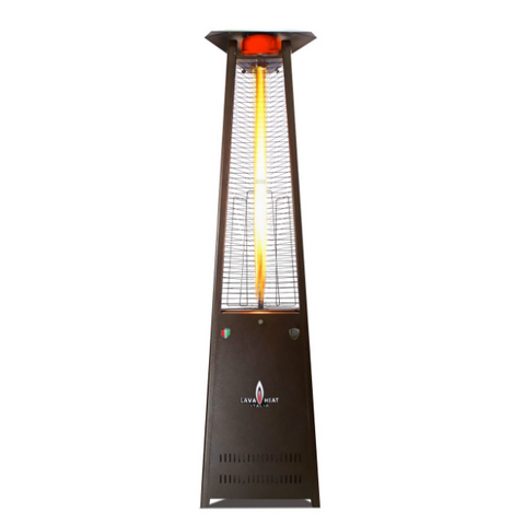 Lava Heat Italia Patio Heater Lava Lite Heritage Bronze - Natural Gas AL8MGB
