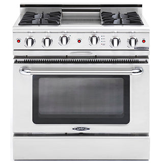 Capital Culinarian 36″ Gas Self Clean Range CGSR362G2 - BarStoreUSA