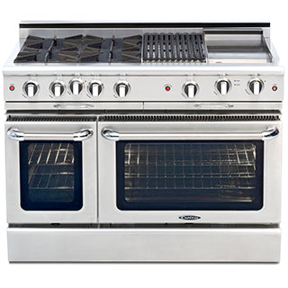 Capital Culinarian 48″ Gas Self Clean Range CGSR484BB - BarStoreUSA