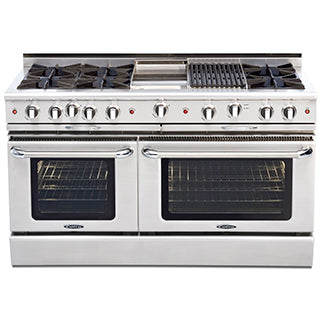 Capital Culinarian 60″ Gas Self Clean Range CGSR604B4 - BarStoreUSA