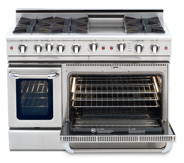 Capital Culinarian 48″ Gas Self Clean Range CGSR484G2 - BarStoreUSA