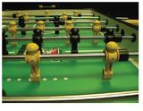 "Valley Dynamo 30"" Tornado Elite Foosball Table TTXEL - BarStoreUSA"