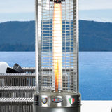 Lava Heat Italia Patio Heater Opus Lite Stainless Steel - Natural Gas LHI-152 - BarStoreUSA