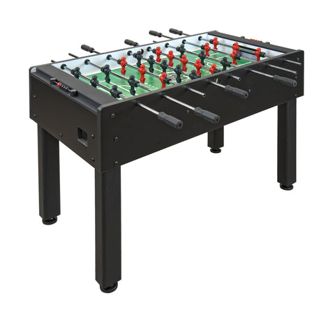Shelti 200 Foosball Table with Black Laminate w/  3- Man Goalie GS-A-DC-1-BK - BarStoreUSA