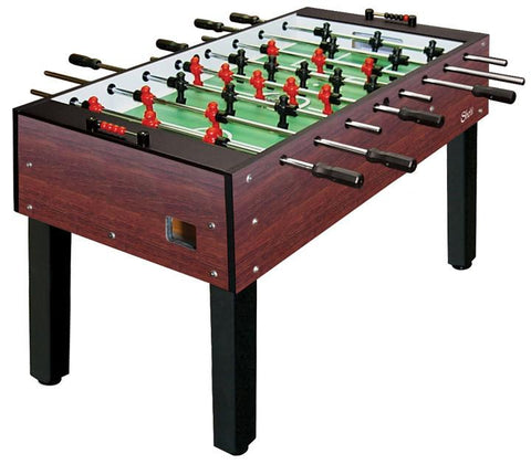 Shelti 200 Foosball Table with Black Laminate w/  3- Man Goalie GS-A-DC-1 - BarStoreUSA