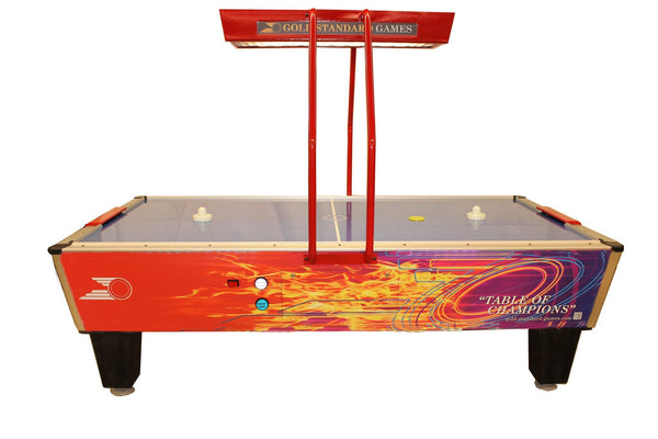 Gold Star Games Gold Pro Elite Air Hockey Table 8HGF-W02-OHS-NL - BarStoreUSA
