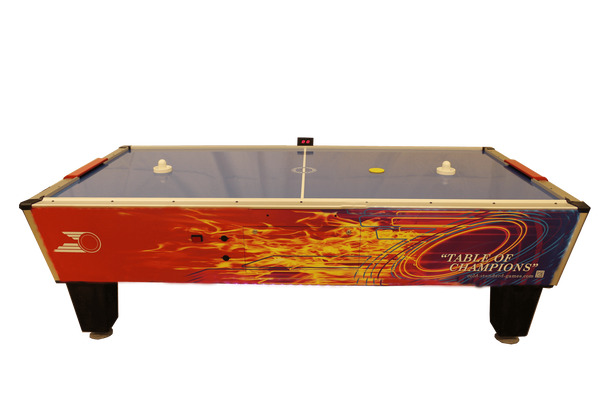 Gold Star Games Gold Pro Air Hockey Table 8HGF-WO2-TRS-NL - BarStoreUSA