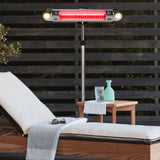 Lava Heat Italia Patio Heater Wall E Stainless Steel - Electric EL6RES - BarStoreUSA