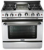 Capital Culinarian 36″ Gas Manual Clean Range MCOR364B - BarStoreUSA