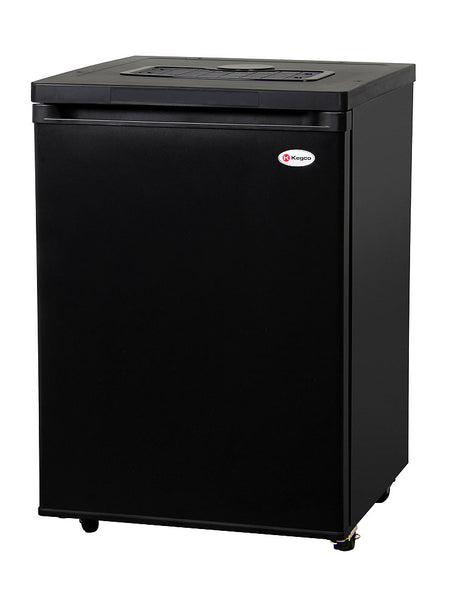 "Kegco 24"" Wide Black Kegerator - Cabinet Only Model: MDK-209B-01"