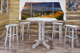 Montana Woodworks Montana Collection Pub Table - BarStoreUSA