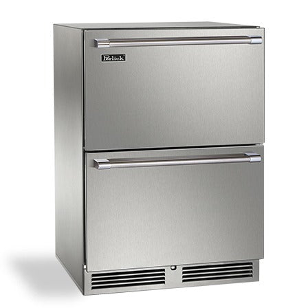 "Perlick 24"" Signature Series Outdoor Freezer Drawers - BarStoreUSA"