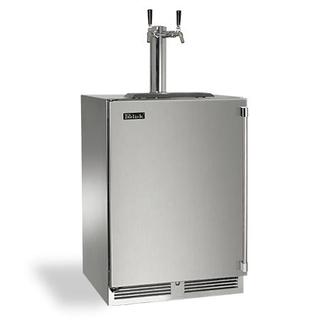 "Perlick 24"" Signature Series Outdoor Beer Dispenser - BarStoreUSA"