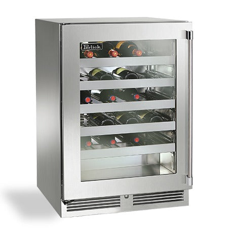 "Perlick 24"" Signature Series Outdoor Wine Reserve - BarStoreUSA"
