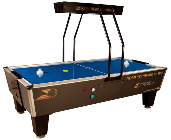 Gold Standard Games Tournament Pro Elite Air Hockey Table 8HGS-W01-OHS - BarStoreUSA