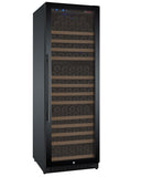 "Allavino 24"" Wide FlexCount II Tru-Vino 177 Bottle Single Zone Black Right Hinge Wine Refrigerator Model: VSWR177-1BR20"