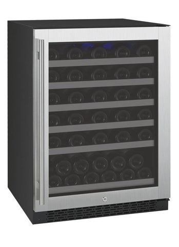 Allavino 56 Bottle FlexCount Series Single Zone Wine Refrigerator VSWR56-1SSRN - BarStoreUSA