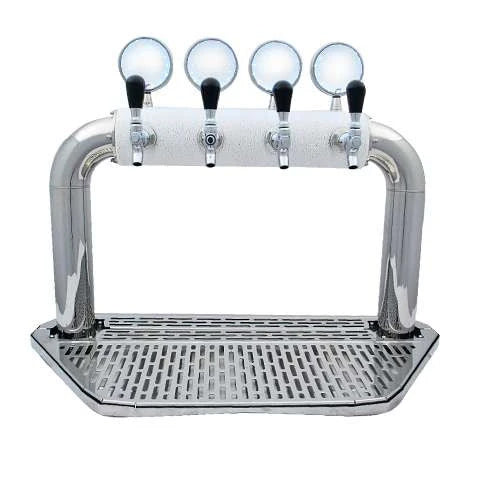 Beer Tower Arcadia 4 ICE tower with LED medallions - BarStoreUSA