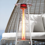 Lava Heat Italia Patio Heater Capri Stainless Steel - Propane AL6MPS