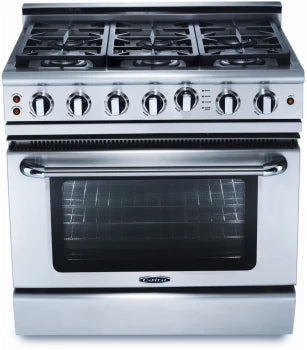 Capital Precision 36″ Gas Self Clean Range GSCR366 - BarStoreUSA