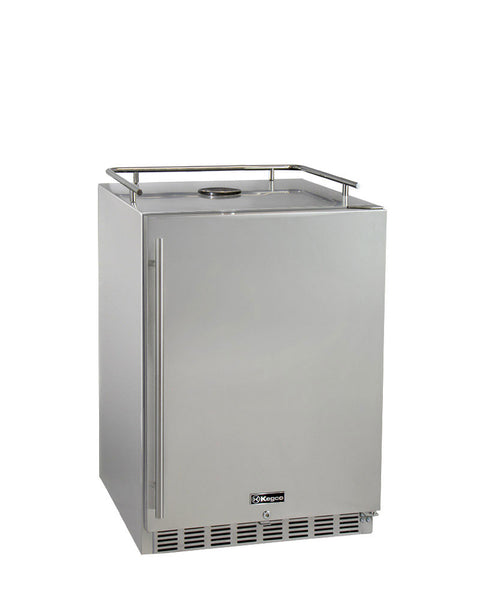 "Kegco 24"" Wide All Stainless Steel Commercial Built-In Kegerator - Cabinet Only Model: HK-38-SS"