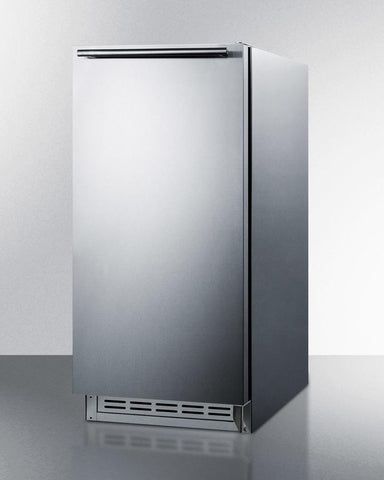 "Summit Appliance 15.18"" Icemaker BIM25H32 - BarStoreUSA"
