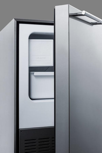 "Summit Appliance 15.18"" Icemaker BIM25H34 - BarStoreUSA"
