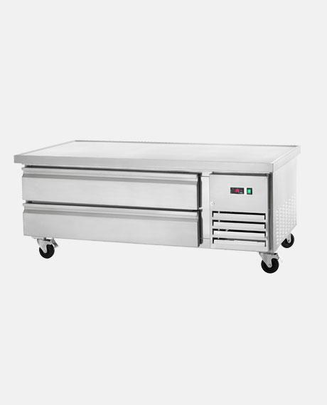 "Arctic Air Two-Drawer 60"" Refrigerated Chef Base ARCB60 - BarStoreUSA"