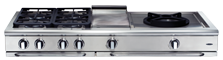 Capital Precision 60″ Gas Range Top GRT606BG - BarStoreUSA