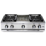 Capital Precision 36″ Gas Range Top GRT364B - BarStoreUSA