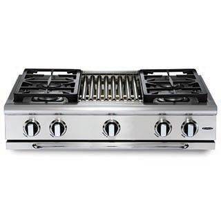 Capital Precision 36″ Gas Range Top GRT364W - BarStoreUSA