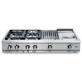 Capital Precision 48″ Gas Range Top GRT486B - BarStoreUSA