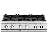 Capital Culinarian 36″ Gas Range Top CGRT362B2 - BarStoreUSA