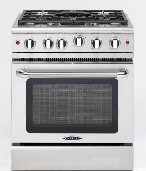Capital Precision 30″ Gas Manual Clean Range MCR305 - BarStoreUSA
