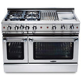 Capital Precision 48″ Gas Self Clean Range GSCR484G - BarStoreUSA